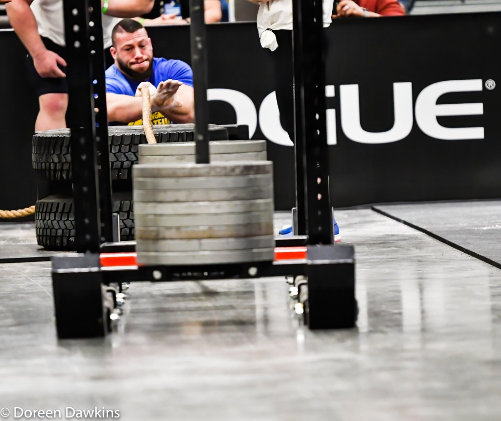 Middleweight Strongman Winner Gary Piotrowski (Sled pull), Arnold Sports Festival 2020