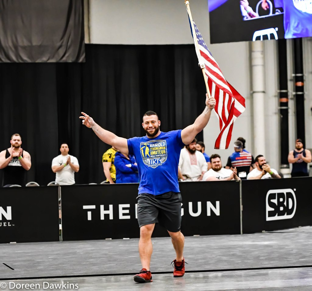 Middleweight Strongman Winner Gary Piotrowski, Arnold Sports Festival 2020