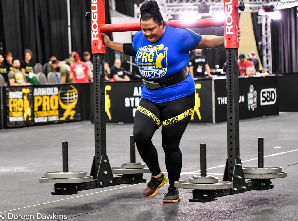 Pro Strongwoman Brook Sousa, Arnold Sports Festival 2020