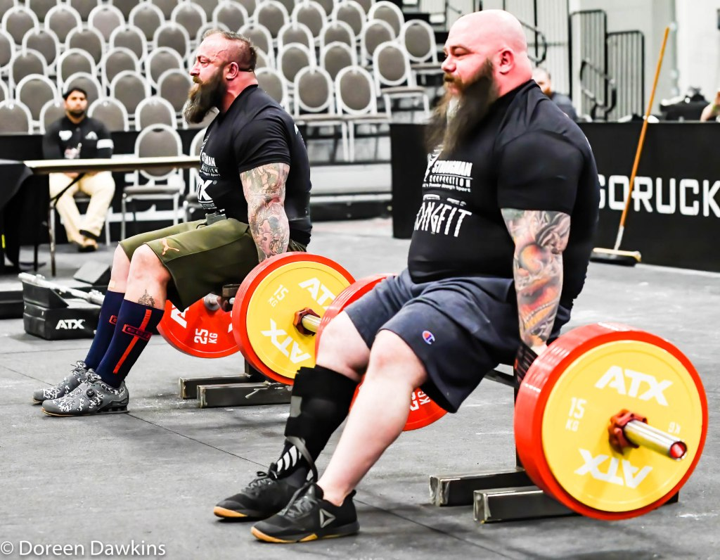 Martin Tye at the Disabled Strongman competition, Arnold Sports Festival 2020