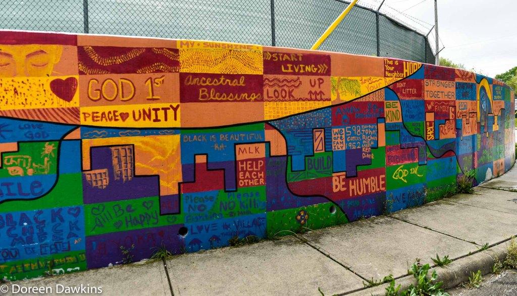 "Lucille McIntyre ""Peace Wall"" , COVID-19 Break: Lucille McIntyre ""Peace Wall"" an interview with Shelbi Harris-Roseboro"