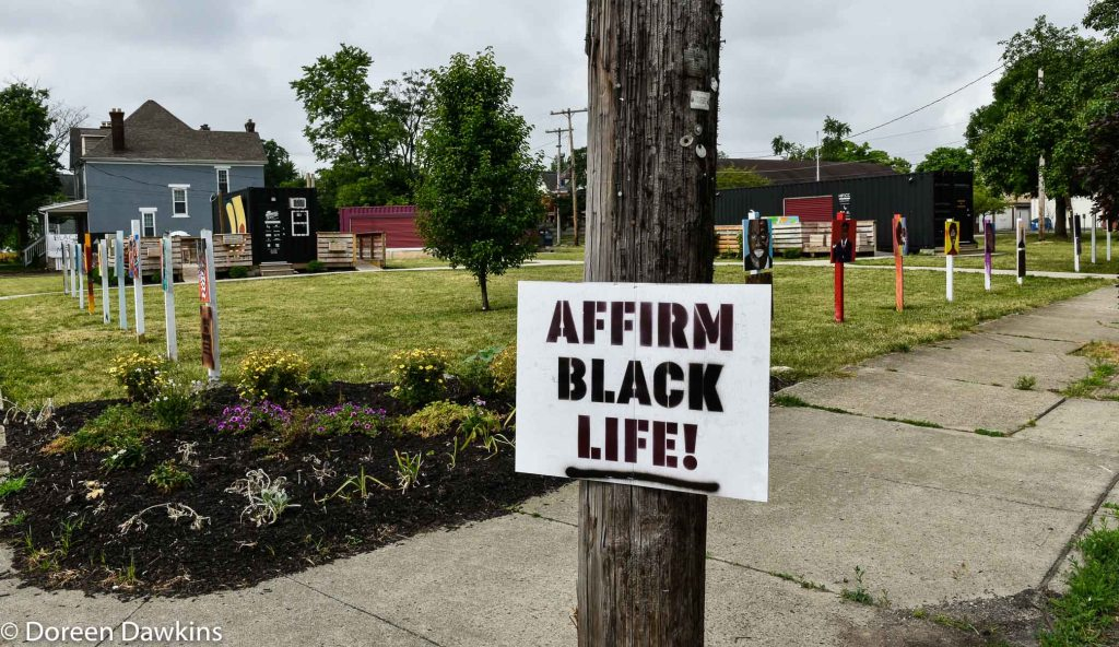 """Affirm Black Life"", COVID-19 Break: Bronzeville Art on the Park"