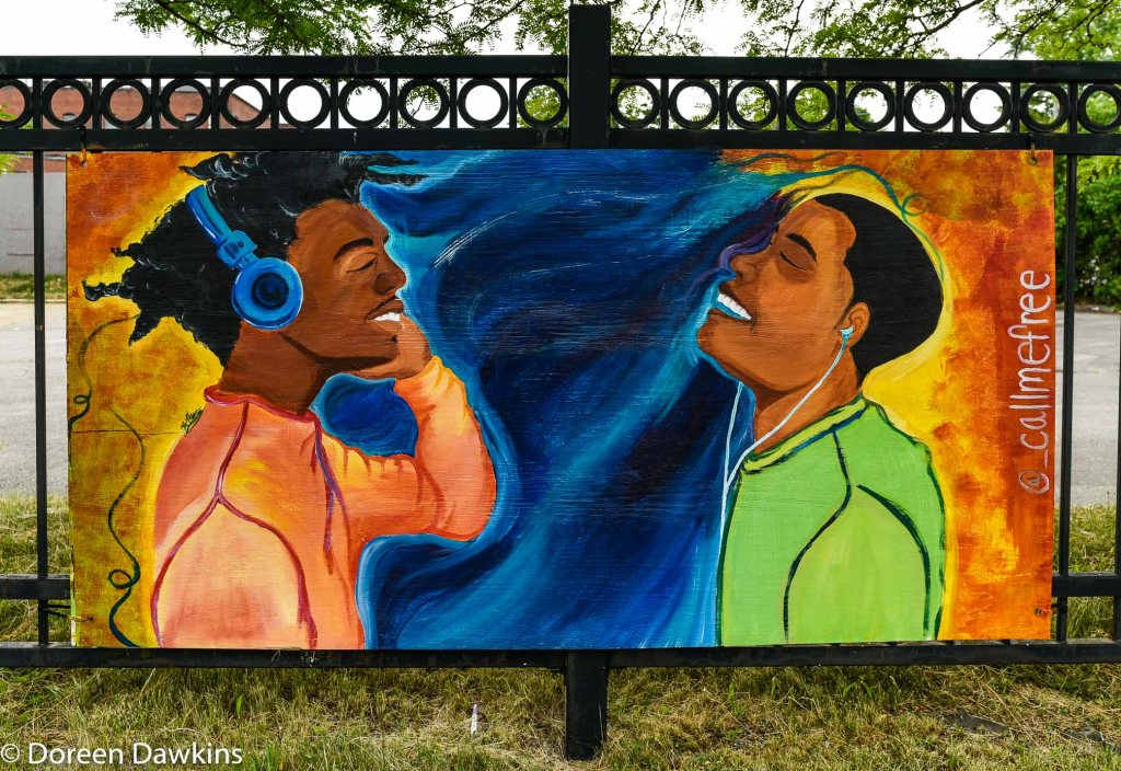 Work of Francesca Miller, COVID-19 Break: Bronzeville Art on the Park