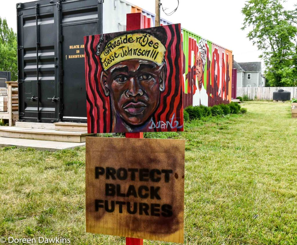 """Protect Black Futures"", COVID-19 Break: Bronzeville Art on the Park"