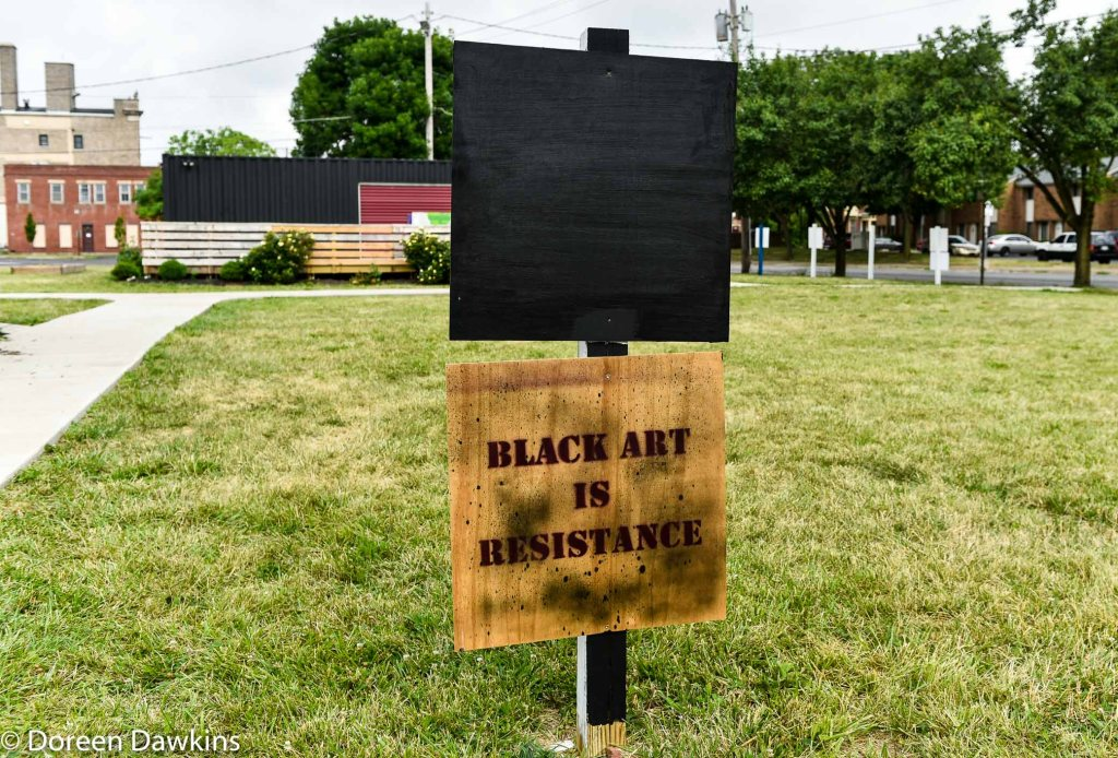 Black Art is Resistant, COVID-19 Break: Bronzeville Art on the Park