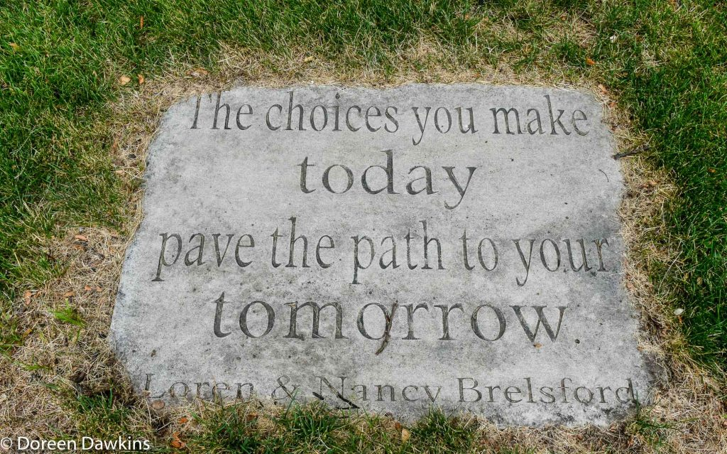 The choices you make today pave the path to your tomorrow, Loren & Nancy Brelsford, COVID-19 Break: Boys and Girls Club of Columbus West Side Unit