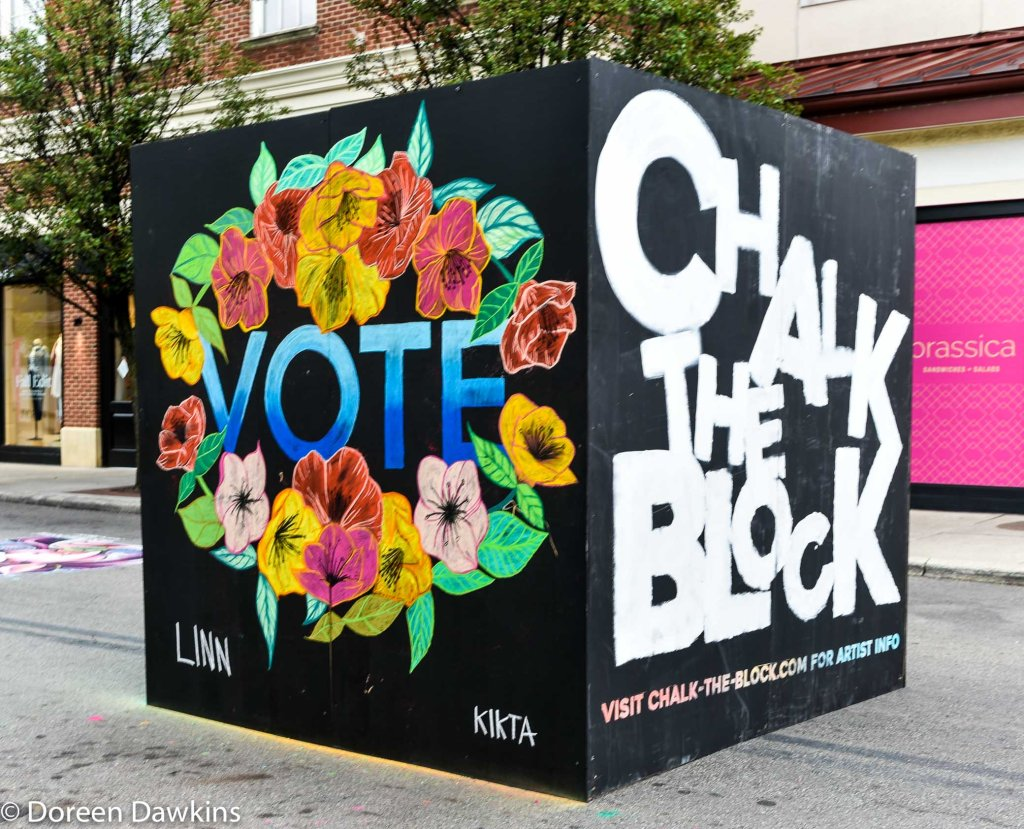 Chalk the Block 2020, COVID-19 Break
