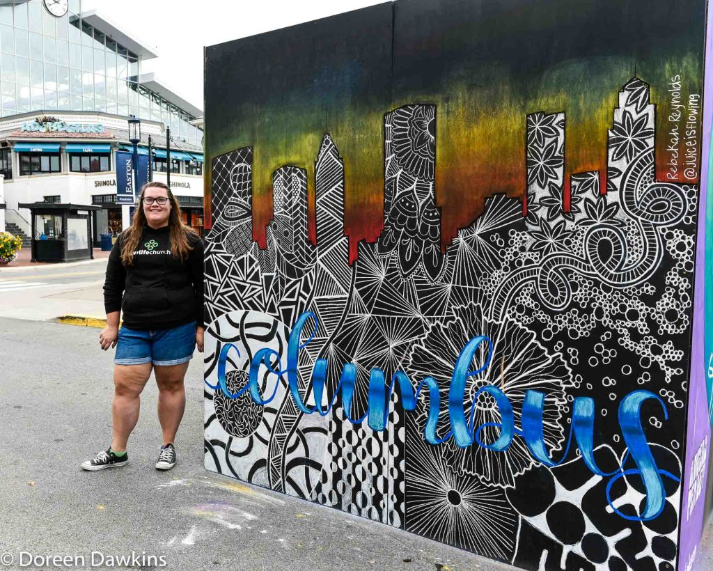Rebkeh Reynolds, @ juiceisflowing, Chalk the Block 2020, COVID-19 Break